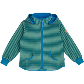 Finkid Tonttu Striped Chaqueta Polar Niños, trellis/seaport